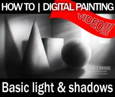 Basic Light and Shadows Tutorial  Digital Painting by just-caro