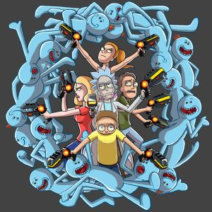 Mr. Meeseeks Portal by Zinfer