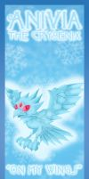 Anivia bookmark design by Hotaru-oz