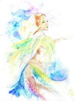. . the forgetful dancer . by lululinart