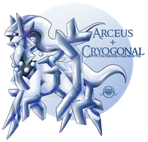 Arceus X Cryogonal [Closed]