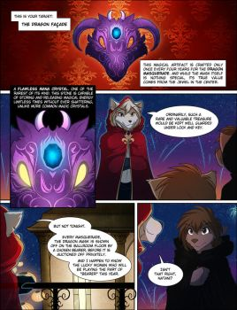 The Dragon Masquerade: Preview (3/4) by Twokinds