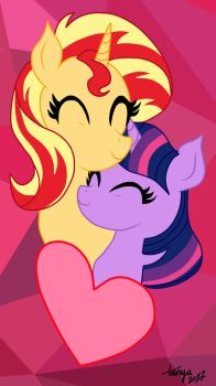 SunLight (valentines day/5 year anniversary pic) by Bloom-Tazza93