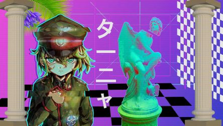 My Anime Vaporwave Wallpaper #14 by iamthebest052