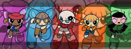 Cross Artstyle - KND to PPG by DanileeNatsumi