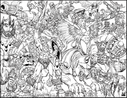 He-Man and the Masters of the Universe by ChadFeldpausch