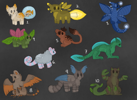 Cheap Point Adoptables Ended by ForestGlade