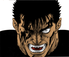 An angry Guts for Berserk by g-unit69