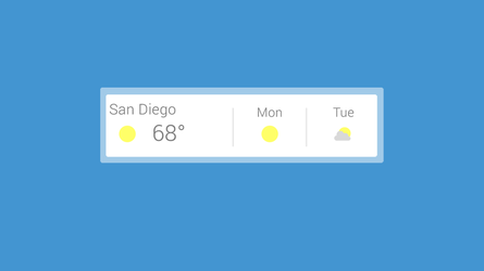 Google Now Weather 2.0 [OUTDATED] by fivetwofoureight