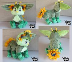11in Fern Flower Oot Plush Commission by AnimalArtKingdom