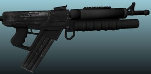 SRG-4 Rifle Texture Update 2 by Artificialproduction