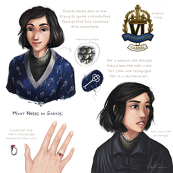 Notes on Sabriel by Apetron