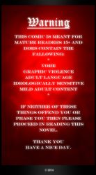 Pitch Black Warning Page by SafireCreations