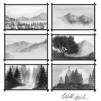Landscape Speedpaints 1 by willy-wilson
