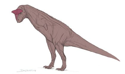 Intimidating Carnotaurus by Gredinia