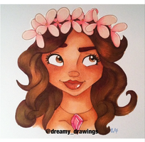 Moana by dreamy-drawings