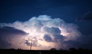 Positive Lightning by NC-StormChaser