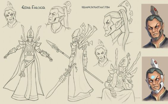 Farseer  sketch by YuliaPW