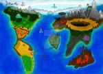 World Map Speedpaint by JustinArt87