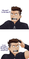 Poor Hawkeye by pencilHead7