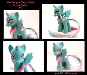 Mintamena Pie custom commission 2012 by MustBeJewel