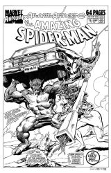 Amazing Spider-Man Annual #23 Cover Recreation by dalgoda7