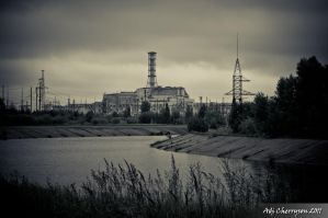 Chernobyl power plant by adi-cherryson