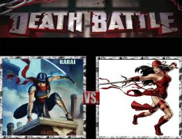 Request #141 Karai vs Elektra by LukeAlanBundesen