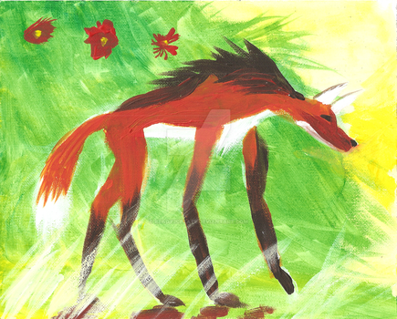 Maned Wolf by Scared2dream