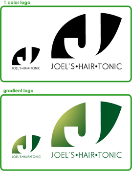Joel's Hair Tonic- Logo by acktacky