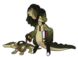 #1279 Mythical BB - Swamp Dragon - AUCTION -CLOSED by Pickleweasel360