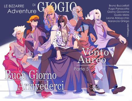 Vento Aureo - The Passione by YAMsgarden