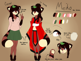 Meiko Reference by ChaoticDemons