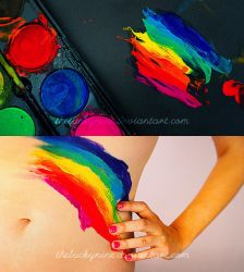 you're a color in my eyes by theluckynine