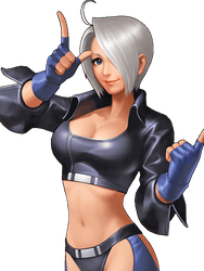 King of Fighters 98 UM OL Angel by hes6789