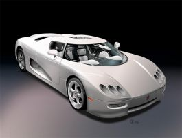 The Koenigsegg by Beowulf-Kennedy