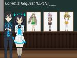 Commis Request (OPEN) Story and illust by sunnyDg