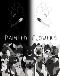 Painted Flowers Poster by Technicollor