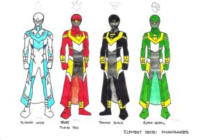 Element Sentai Smashranger Concept by TakarinaTLD93