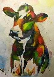 Colour Cow by DamnedWind