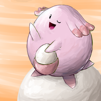 Chansey + Egg-Moon