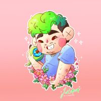 Our lovely Jacksepticeye :D by LittleLionLie