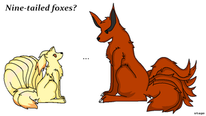 Nine-tailed foxes? by xStage