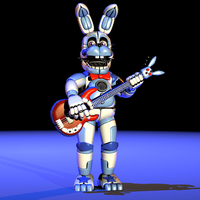 Funtime Bonnie Extras Render! - [FNaF SL Fanmade] by ChuizaProductions