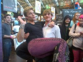 mcm expo my holding vic mignogna by davaldevil789