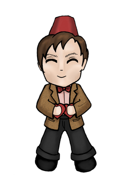 11th Doctor by bewareofninja