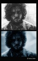 Jon Snow by TFGuillen