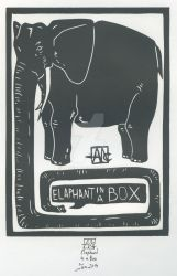 Elephant in a Box by Layen