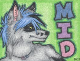 Mid Badge by kcravenyote