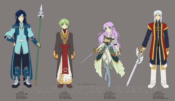 MQ : Elven Knights lineup by Zue